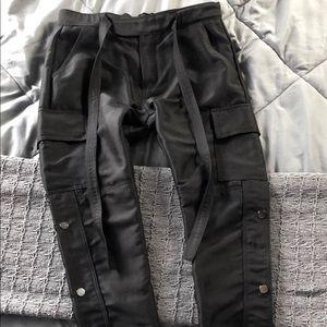 MNML Snap Zipper Cargo Pants!!!